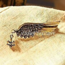 Popular Chic Jewelry Fashion Punk Simple Breast Pin Wing Angel Wings Brooches