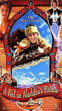 A KID IN ALADDIN'S PALACE COLLECTIBLE 1998 VHS TAPE
