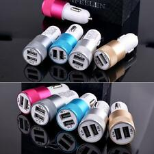 Adapter 2.1a/1.0a 2-port Dual Usb Bullet Car Charger  for Iphone 5 6 Samsung