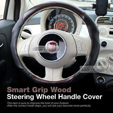 Universal Smart Grip Wood Car Steering Wheel Handle Grip Cover for All Vehicle