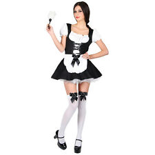 Sexy French Maid Ladies Role Play Fancy Dress Costume