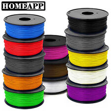 Reprap prepaper 1.75mm 3mm colourful filament ABS for 3D home desktop printer AU