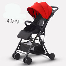 Lightweight Baby Stroller High-view Folding Carriage Buggy Pushchair Pram Plane