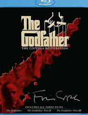 The Godfather Collection (The Coppola Restoration) [Blu-ray] New & Sealed!