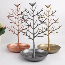 Chic Bird Tree Earrings Bracelet Jewelry Holder Display Show Stand Rack 3Colors