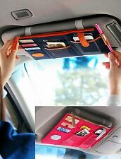 Auto Car Sun Vistor CD DVD IPHONE PHONE Card Storage Organizer Bag Holder Case
