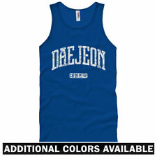 Daejeon Korea Unisex Tank Top - Men Women XS-2X - Gift South Korean Citizen FC