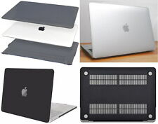Matte Hard Case Shell Housing Screen Protector for Apple MacBook Air Pro Laptop