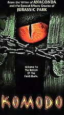 """KOMODO """"WELCOME TO THE BOTTOM OF THE FOOD CHAIN"""" 2000 EX. COND VHS FAST SHIPPING"""