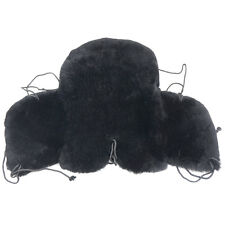 Real Merino Sheepskin Western Saddle Seat Saver Cantle Cover Thick Fleece2004/5