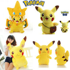 Pokemon Pikachu Figure Soft Stuffed Plush Toys Doll Kids Children Baby Toy Gifts