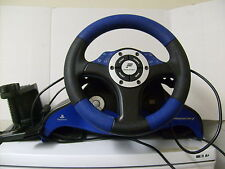 P S 2. FANATEC. SPEEDSTER 3 .STEERING WHEEL. PEDALS . CLAMP. VERY GOOD CONDITION