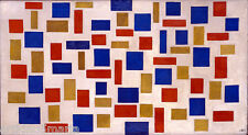THEO VAN DOESBURG COMPOSITION XI ABSTRACT ART Giclée Print Canvas