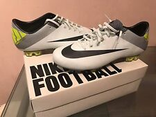 NIKE MERCURIAL VAPOR SUPERFLY III FG 10 US CARBON FIBRE SOCCER CLEATS CR7