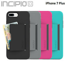 Incipio® iPhone 7 Plus Case Stowaway Credit Card ID Kickstand Hard Shell Cover