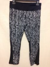 Nike  Womens Power Printed Dri Fit Running Pant  Black 821777-010 NWT