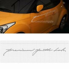 Slogan Decal Product Sticker 1000mm For Hyundai Veloster