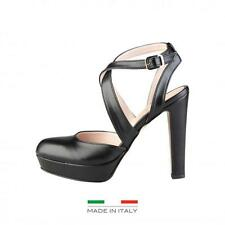 Versace 1969 Shoes Lady sandals Black 67386 fashion Heels made in Italy moda1
