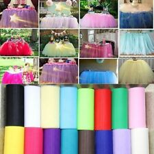Tutu Wrap Fabric Party Decoration Wedding Tulle Roll Spool Craft Gift
