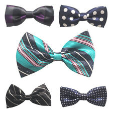 Toddler Boy Kid Bowtie Pre Tied Gentleman Wedding Bow Tie Necktie Party Tuxedo