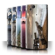 STUFF4 Phone Case/Back Cover for Sony Xperia Arc S/LT18i /English Seaside