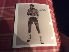 Bob Foster Signed Boxing Photo