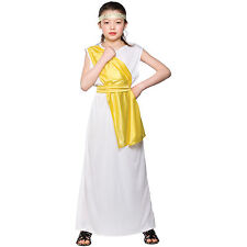 Girls Ancient Greek Girl Costume Child Role Play Party Halloween Fancy Dress Up
