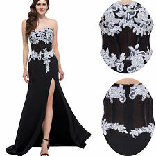 Sexy Long Chiffon Wedding Evening Dresses Party Ball Gown Prom Bridesmaid Dress