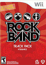 ROCK BAND TRACK PACK  Volume 2  (Wii, 2008)BNISW DAY U PAY IT SHIPS FREE
