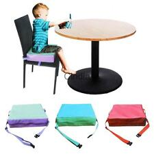 Kids Chair Booster Pad Dismountable Adjustable Children Dining Chair Booster Mat
