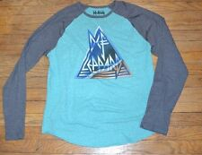 Def Leppard Men's Long Sleeve T-Shirt Officially Licensed Tee