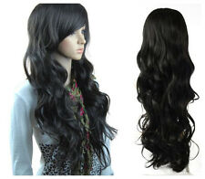 New Style Fashion Women Long Wavy Hair Girl Curly Full Hot Cosplay Wigs