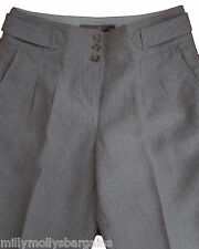 New Womens Beige Linen NEXT Trousers Size 16 14 12 10 8 6 Long Regular RRP £35