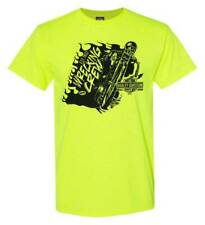 Harley-Davidson Men's Wrecking Crew Biker Short Sleeve T-Shirt, Safety Green