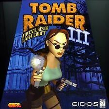 "Tomb Raider III: Adventures of Lara Croft (PlayStation, 1998) Rated ""T"""