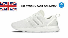 Adidas Originals Mens ZX Flux Trainers Lace Up White Running Shoes adidas