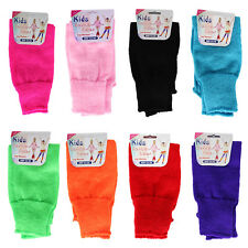 Womens Ladies Girls Childrens Fancy Dance Show Party Leg Warmers Plain Striped