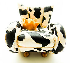 Take a Seat by Raine and Willitts Designs: Cow c. 1998 #24020