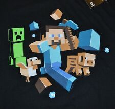 Mojang Minecraft Mine Craft Character Adult T-Shirt Officially Licensed Jinx Tee