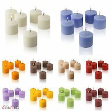 Scented Votive Candles Box Of 12 High Quality 8 Hours Burning Time per Candle