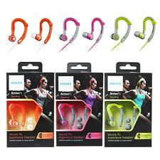 Philips SHQ3300 Sports Ear-hook Headphones Earphone ActionFit Waterproof