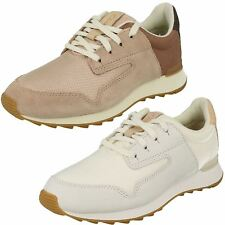 Ladies Clarks Casual Trainer Style Shoes Floura Mix