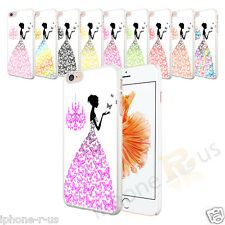 Butterfly Dress White Hard Case Cover For Various Mobile Phones