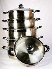 Neware 3116 Stainless Steel Low Pot 8Qt, 10QT, 12QT, 14QT, 16QT, 18QT