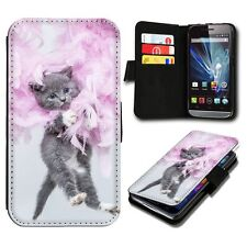 Wallet Book Style Flip Handy Case Cover Protector SBB-489