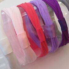 Nylon Interchangeable headbands - starter set - Newborn Headband - pantyhose lot