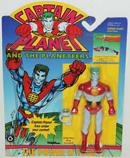 1991 Captain Planet Flying Figure w Ring Planeteers Comic Vintage MINT MIP