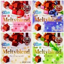 Japan Meiji Melty Blend Fine Chocolate (Greentea, Strawberry, Blueberry, Cacao)