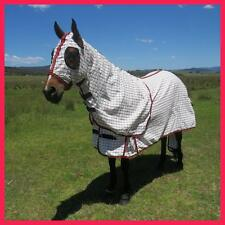 LOVE MY HORSE 5'0 - 6'9 Poly Cotton Ripstop Summer 280g Rug Hood Tail Bag