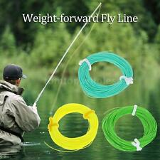 WF-5F Weight Forward Floating Fly Line Fly Fishing Rigging Tapered Trout S3J7